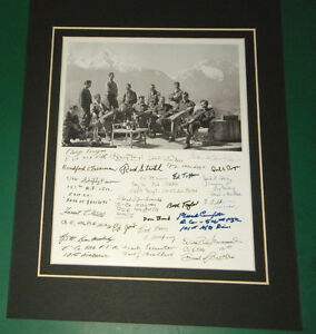 Band-of-Brothers-Easy-Company-Eagle-039-s-Nest-Germany-1945-22-Reprint-Signatures