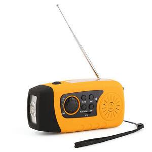 Kurbelradio-AM-FM-Radio-Taschenlampe-Solarradio-USB-MP3-tragbar-UKW-MW-TUNER-T1