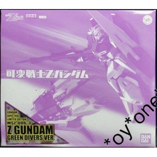Gundam Bandai Kado kahen Senshi GD-44 MSZ-006 Zeta Zeta Zeta Z Green Divers Limited ec1087