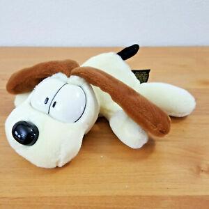 This Is Fine Dog Stuffed Animal, 1978 Odie Dog Garfield 6 Paws Stuffed Beanie Plush By Fine Toy Ebay