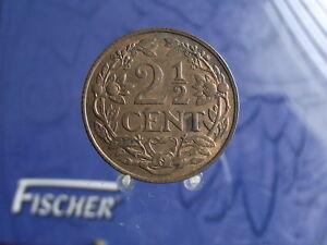 0008 2,5 C Pays-bas 2,5 Cent 1941-afficher Le Titre D'origine Cool En éTé Et Chaud En Hiver