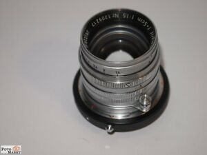 Leitz Leica M Lens Summarit 1,0 3/8in Lens Ø 40,5mm For Sony E-Mount Alpha 7