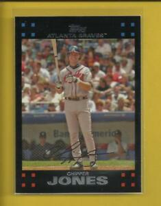 Chipper-Jones-2007-Topps-Series-1-Card-90-Atlanta-Braves-Baseball-MLB-HOF