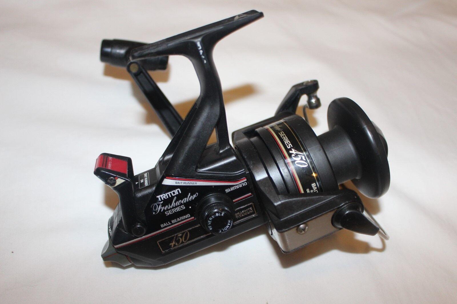 Shimano BAITRUNNER 450-Triton freshwater series-Made in Japan-nr-1158