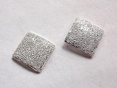 2mm Faux Diamond-Dust Ball Stud Earrings 925 Sterling Silver Corona Sun Jewelry