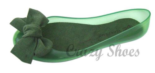 SCARPE DONNA PVC MADE IN ITALY BALLERINE VERA PELLE GIALLO ARANCIO VERDE ROSSO