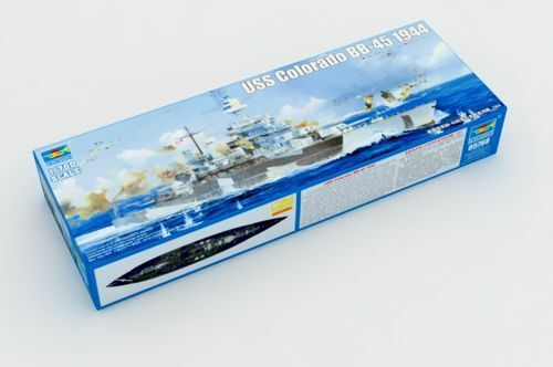 Trumpeter 1/700 USS Colarado Bb-45 1944  05768
