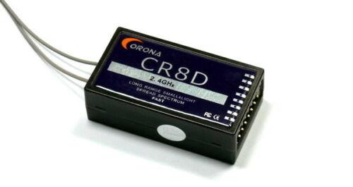 Corona RC Model CR8D 8ch 2.4GHz R//C Hobby DSSS Micro Receiver RV205
