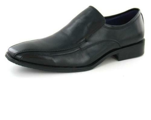 Hombre Maverick Mocasines A1057 de Vestir/Zapatos de Diario A1057 Mocasines Negro a8f3ce