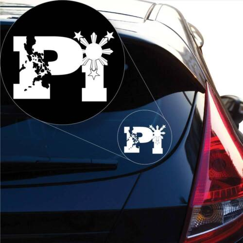 Laptop #1009 PI Philipines Filipino Pinoy Pinay Decal Sticker for Car Window