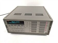 Keithley 7002 Switch System 10 Slot Control Mainframe 400 Channel Card Chassis