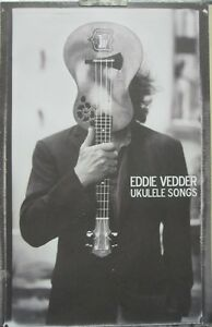 Details about Eddie Vedder 2011 Ukulele Songs Promotional Poster New Old  Stock Pearl Jam