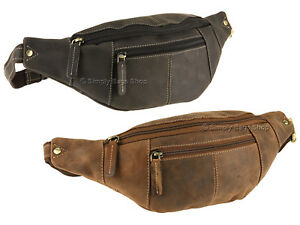 7264ee4ed815 Image is loading Visconti-Hunter-Leather-Bumbag-Travel-Waist-Pack-Hip-