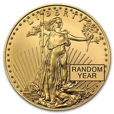 1oz Gold American Eagle Coin Random Year BU - SKU #84672