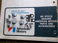 Amc 1968 1969 Amx & Javelin 6 Hood Trim Mounting Clips + 6 J-trim Clips