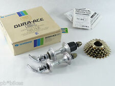 Dura Ace Hub set w cassette Shimano EX 7100 36 h 126mm Vintage Bicycle NOS