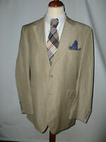 Mens Jeff Banks Wool And Linen Blazer/jacket Size 44l