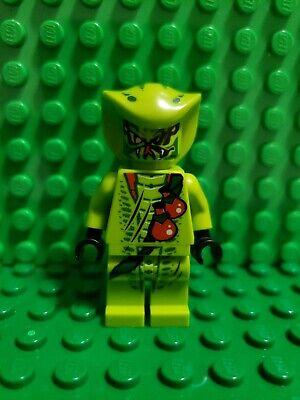 Lego Ninjago Lasha Minifigure Green Snake From Set 9447 9562