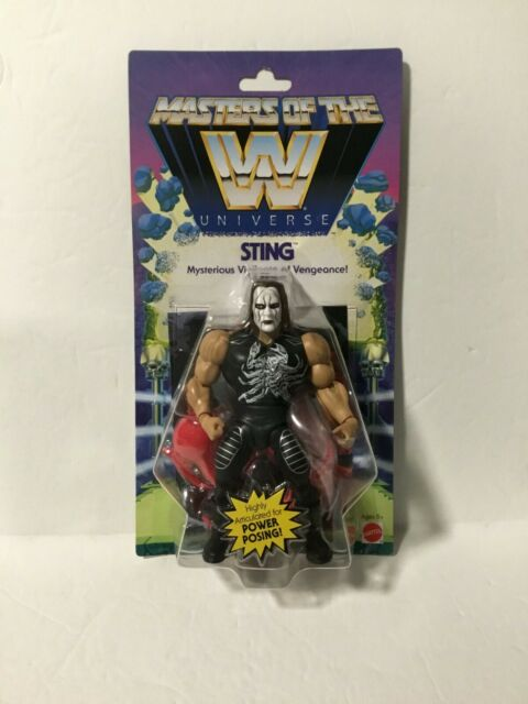 Exclusive WWE Masters of the Universe Sting Posable Action Figure New