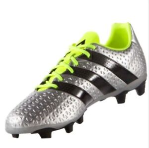 Details about New Men's Adidas Ace 16.4 FxG Soccer Boot Shoe Cleats NeonSilver Size US 11