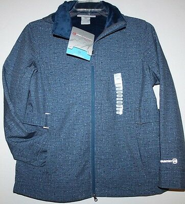 Free Country NWT Women's S L XXL Blue Active Jacket Soft Shell Coat w/ Hood