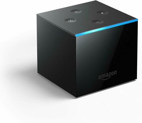 4K Ultra HD streaming media player Fire TV CubeHands free with Alexa