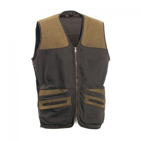 Deerhunter Monteria Waistcoat with Leather Hunting Shooting gilet RRP .99
