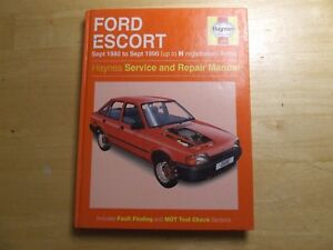 ford escort 1980 1990 workshop service repair manual