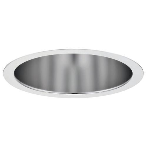 "Lithonia L 6/"" Clear Diffuse Open Reflector Compact Fluorescent Downlight Trim"