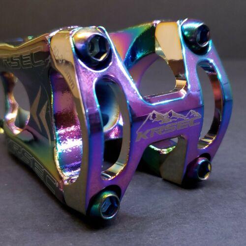 Pro MTB//XC//DH 50mm Aluminum Alloy Lightweight Stem 31.8mm 0 deg Rise Oil Slick