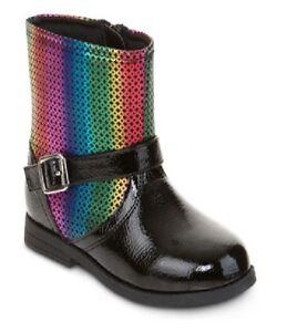 NEW-Okie-Dokie-Girls-Boots-Raye-Engineer-Toddler-size-7-9