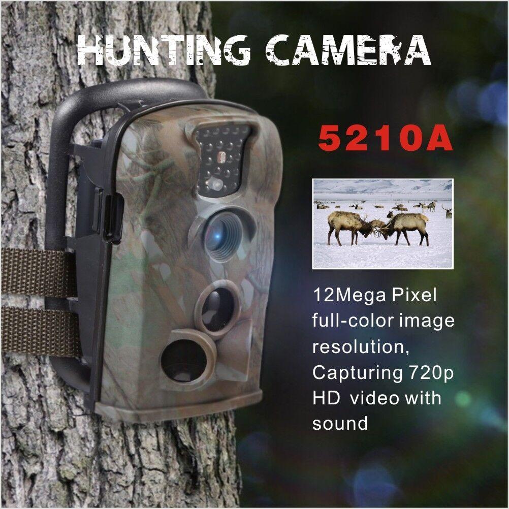 12MP 5210A 8G IR Digital Hunting Trail Game security Camera