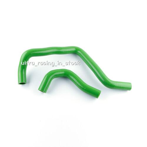 GREEN ZAP 2PCS Radiator Silicone Coolant Hose Pipe Fit Acura Integra 1994-2001