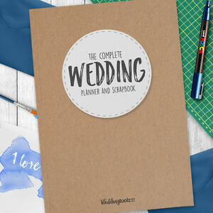 Image Is Loading Wedding Planning Journal The Complete Planner Book