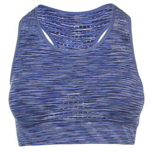 Ladies USA Pro Gym Workout V Neck Seamless Crop Top Dancewear Sizes from 6 to 16