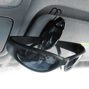 3 Pack: Visor Clip Sunglasses Holder In Assorted Colors