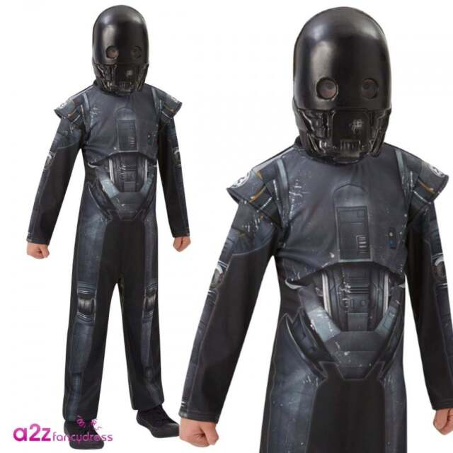 Rubie's Official Kids Rogue One K-2S0 Droid Star Wars Deluxe Costume 5-14 Years
