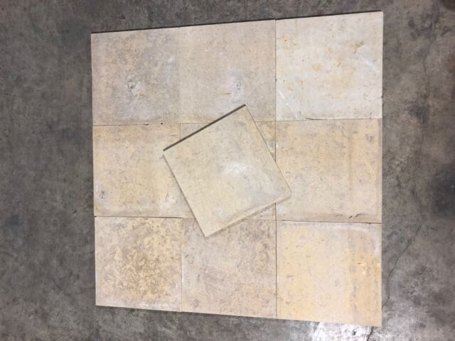 12x12 Natural Stone Beige Floor Tile 1