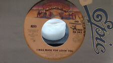 KISS 45 I WAS MADE FOR LOVING YOU / HARD TIMES ON CASEBLANCA RECORDS