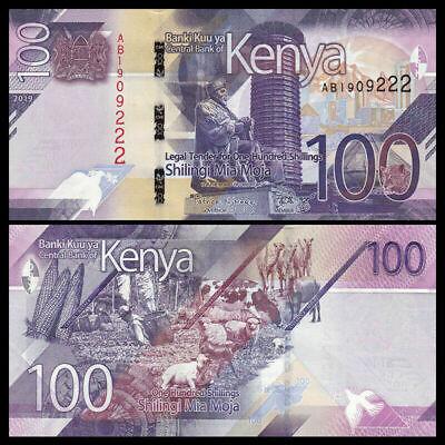 UNC 2019 P-NEW Kenya 100 Shillings