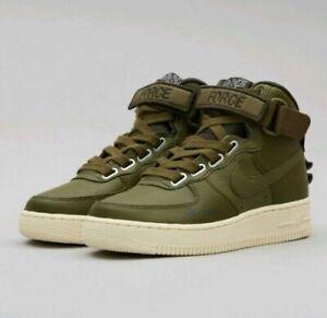 Schuhe NIKE Af1 Hi Ut AJ7311 300 Olive CanvasOlive Canvas