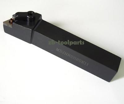 MDJNR2020K15 20×125mm Right Cylindrical turning tool holder For DNMG1504 inserts