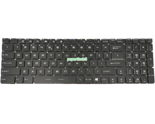 New MSI GT72VR 6RD GT72VR 6RE 7RE Dominator Pro Keyboard US Backlit Crystal Key