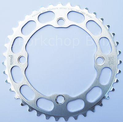 Porkchop BMX single speed bicycle Chop Saw I Chainring 42T 4 bolt 104 bcd BLUE