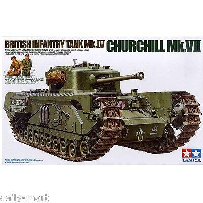 Tamiya 1/35 35210 British Infantry Tank Mk.IV Churchill Mk.VII Model Kit