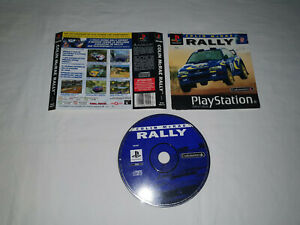 cd disque et 2 COVERS ps1 playstation 1 sony COLIN MC RAE RALLY