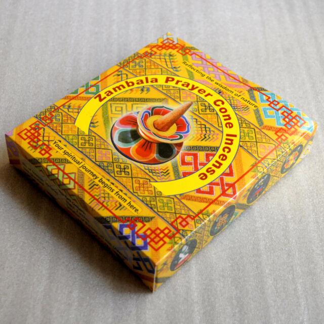 Zambala Prayer Cone Incense from Bhutan for Dharma in Nepal Tibet IN05