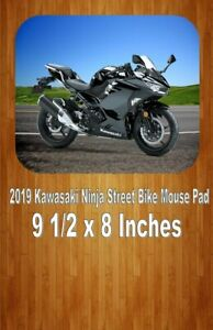 Details about 2019 Kawasaki Ninja Sport Bike Motorcycle Mouse Pad Home Or  Office