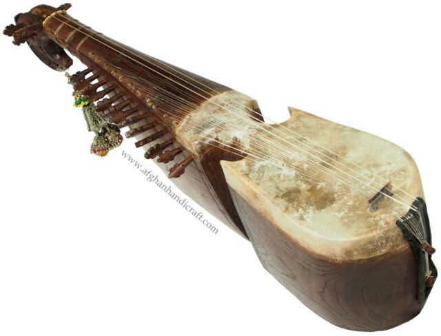 orient Musikinstrument  Robab Ruhbab Rebab Rubab afghanische volksmusik 17/1