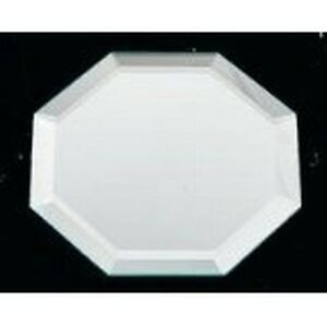 Darice-036860-Octagon Glass Mirror W/Bevel Edge Bulk-8In 036860 New